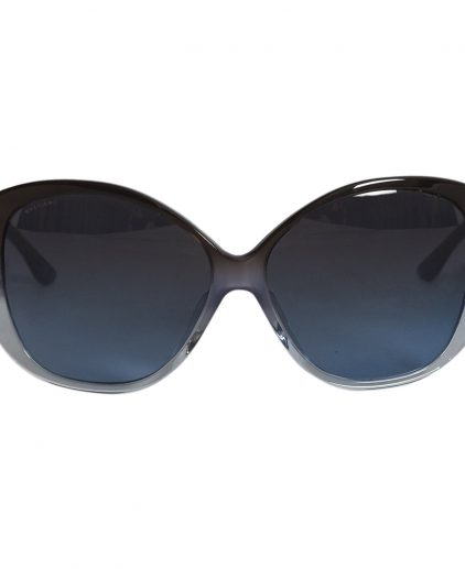 Bvlgari Blue Jeweled 8080-B Cat Eye Sunglasses