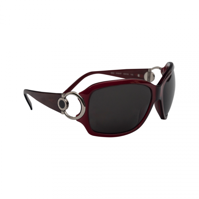 Bvlgari 862 Dark Pink Women's Sunglasses