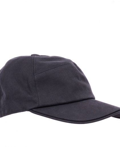 Hermes Grey Cotton Nevada Baseball Cap Size 58