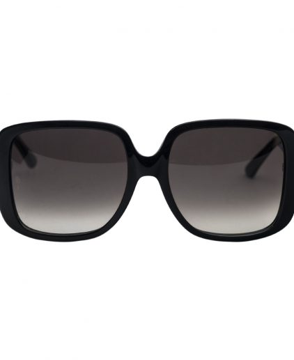 Cartier Black 140 Square Women's Sunglasses
