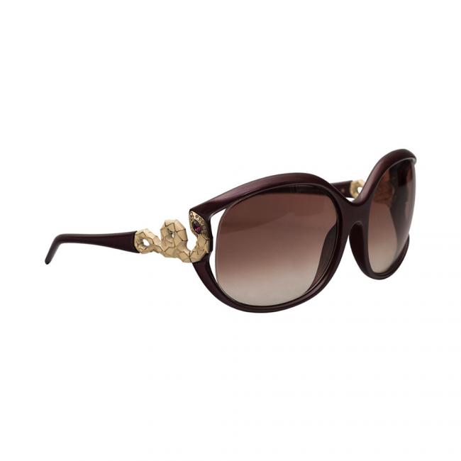 Roberto Cavalli Dark Maroon Tepsi Women's Sunglasses