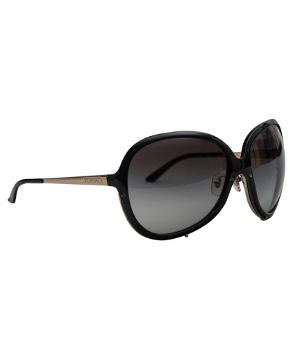 Versace MOD 4157 Black Oversized Women's Sunglasses