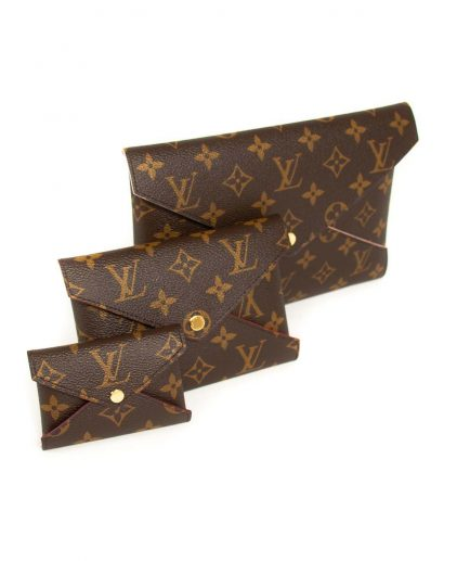 Louis Vuitton Brown Kirigami Monogram Pochette