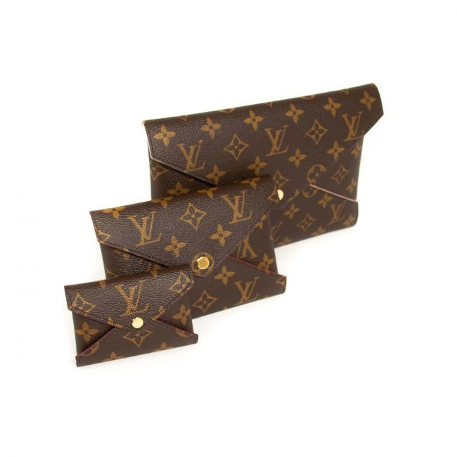 Louis Vuitton Brown Kirigami Monogram Pochette
