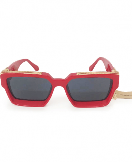 Louis Vuitton Red Z1169E 1.1 Millionaires Square Men's Sunglasses