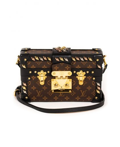 Louis Vuitton Monogram Canvas Petite Malle Handbag