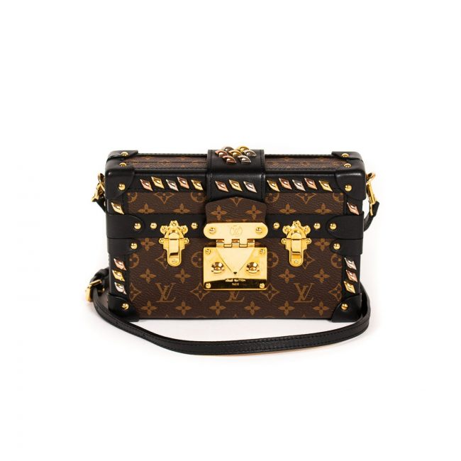Louis Vuitton Monogram Canvas Petite Malle Handbag
