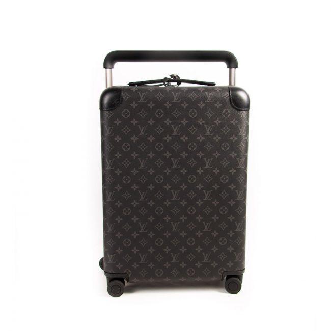 Louis Vuitton Monogram Eclipse Rolling Horizon 55 Suitcase