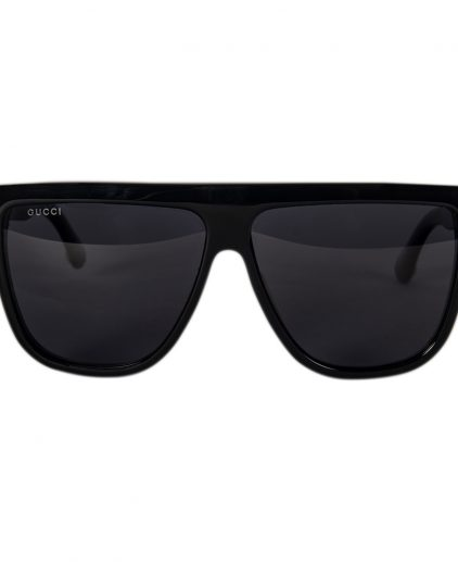 Gucci Black Acetate GG0582S Cat Eye Sunglasses