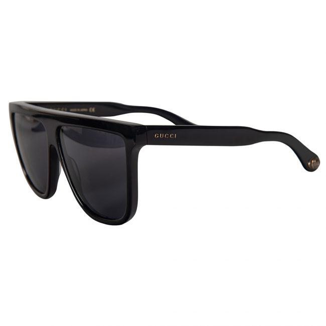 Gucci Black Acetate GG0582S Cat Eye Sunglasses
