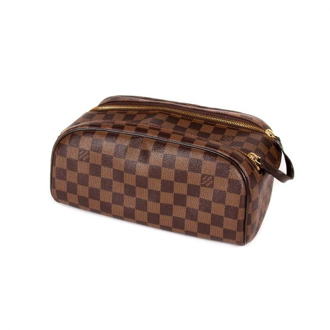 Louis Vuitton Damier Ebene Canvas Toiletry Pouch