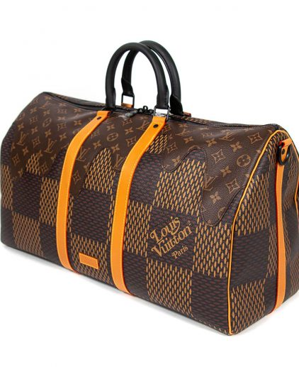 Louis Vuitton Limited Edition Nigo Monogram Canvas Keepall Bandouliere 50