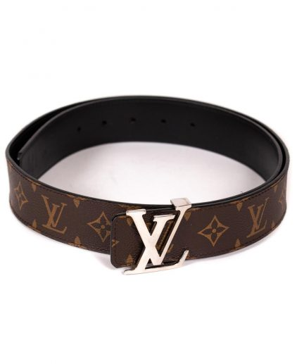 Louis Vuitton Monogram Canvas Initials Belt 95Cm