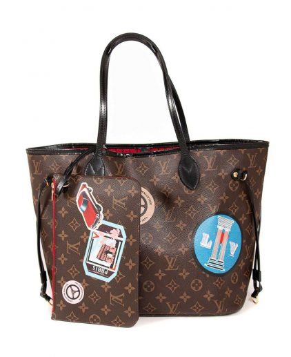 Louis Vuitton Monogram Canvas My World Tour Neverfull MM Bag