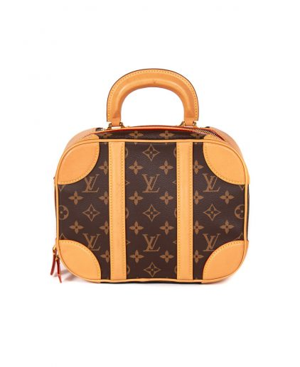 Louis Vuitton Monogram Canvas Valisette PM Bag