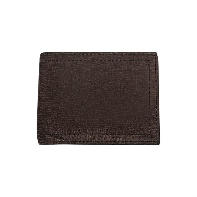 Louis Vuitton Men Dark Brown Calf Leather Multiple Compartment Wallet