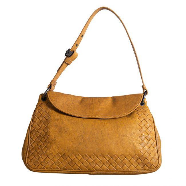 Bottega Veneta Vintage Brown Shoulder Bag