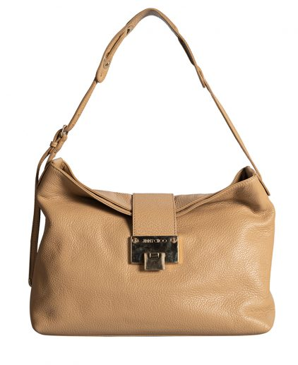 Jimmy Choo Beige Shoulder Bag