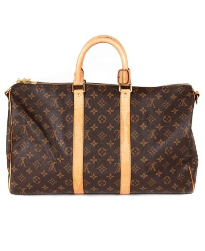 Louis Vuitton Monogram Keepall Bandouliere 45 Bag