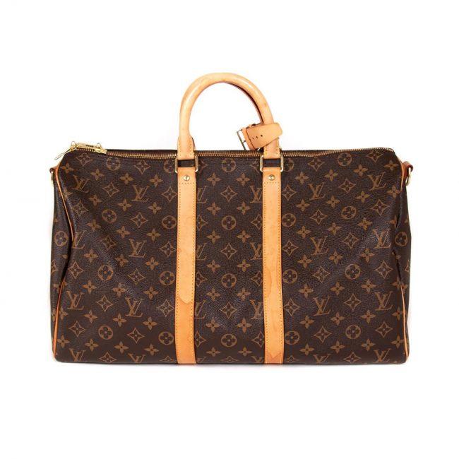 Louis Vuitton Monogram Keepall Bandouliere 45 Bag