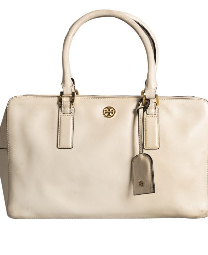 Tory Burch White Leather Handbag