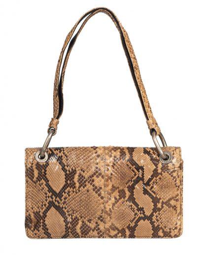 Prada Vintage Exotic Snake Skin Leather Handbag