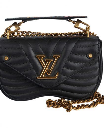 Louis Vuitton Black New Wave Chain Bag
