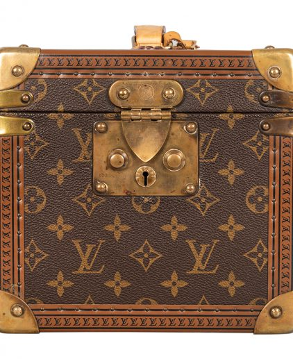 Louis Vuitton Monogram Canvas Boite Falcons Beauty Cosmetic Trunk Case