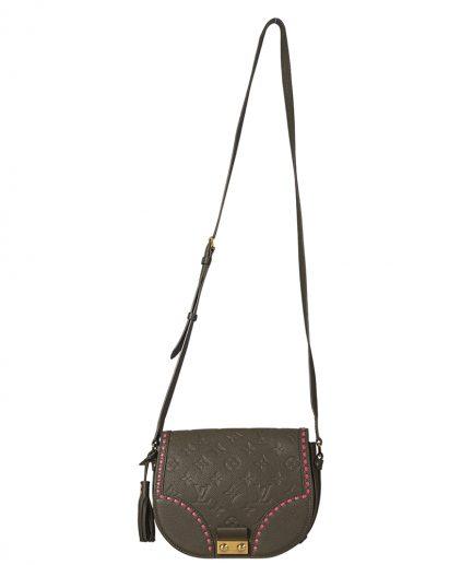 Louis Vuitton Olive Green Monogram Empreinte Leather Junto Shoulder Bag