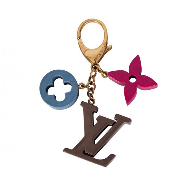 Louis Vuitton Fleur De Monogram Bag Charm